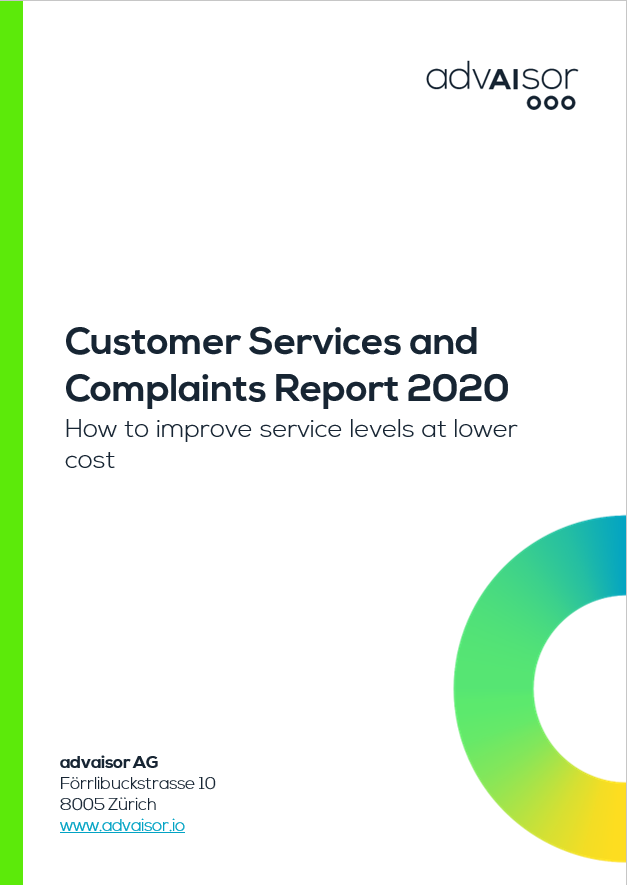 Customer Services and Complaints Report 2020