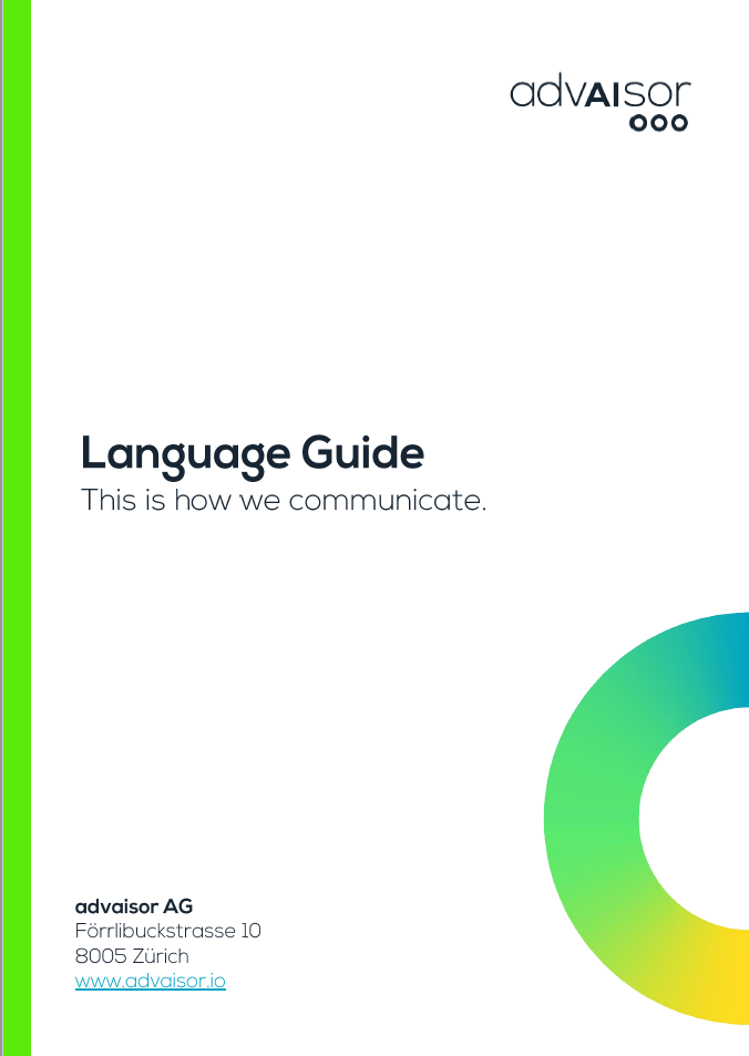 Language Guide - Visual